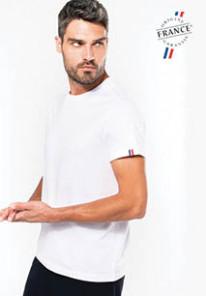 """De Speld - Biologisch heren t-shirt """"Origine France Garantie"""""""