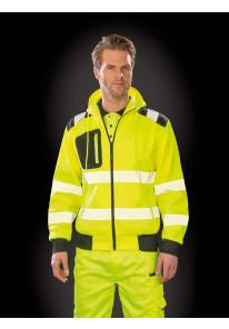 De Speld - Gerecyclede veiligheidssweater met capuchon